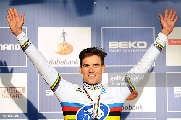 World Championships Hoogerheide 2014 / Men Elite / Podium / STYBAR Zdenek Celebration Joie Vreugde / Championnat du Monde / Wereldkampioenschap / Tim...
