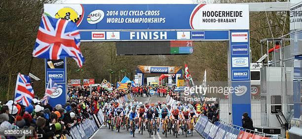 World Championships Hoogerheide 2014 / Women Elite / Illustration Illustratie Start Depart / Championnat du Monde / Wereldkampioenschap / Tim De Waele