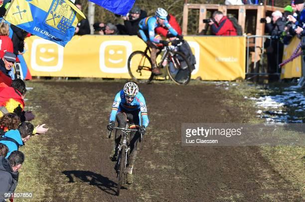 World Championships Tabor 2015 Under 23 /Michael Vanthourenhout Laurens Sweeck Championnat Du Monde Wereldkampioenschap Tim De Waele