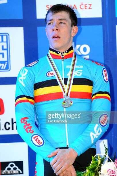 World Championships Tabor 2015 Under 23 /Podium Laurens Sweeck Championnat Du Monde Wereldkampioenschap Tim De Waele