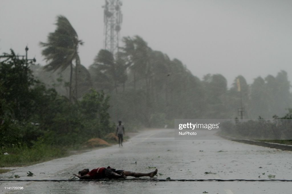Aftermath In India's Odisha Coast As Storm Fani Weakens : Foto di attualità
