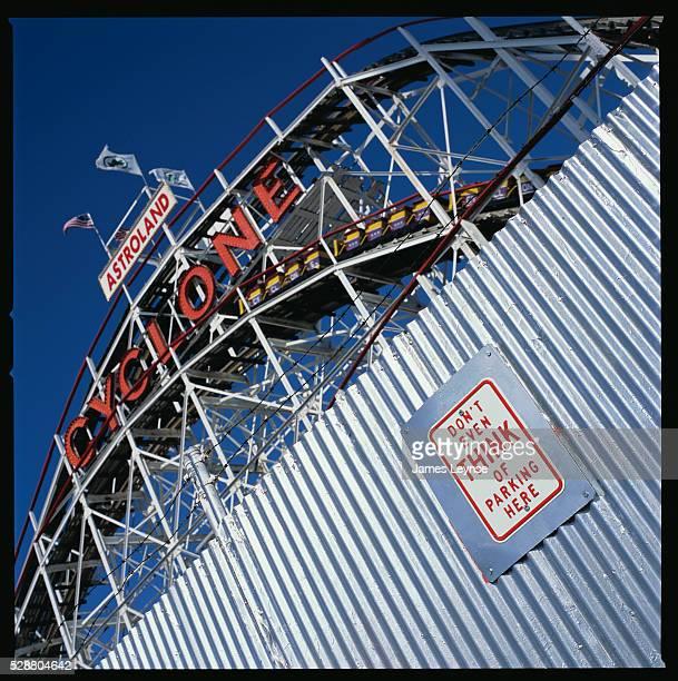 Cyclone Roller Coaster at Coney Island