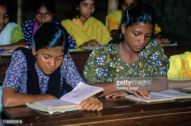 Cyclone Shelter and school in Bangladesh in the Ganges Delta in August 10 Bangladesh