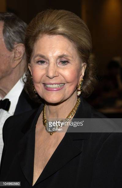 Cyd Charisse during 2003 Society of Singers ELLA Awards Arrivals at The Beverly Hilton in Beverly Hills California United States