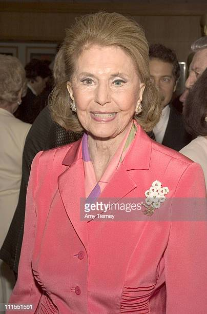 Cyd Charisse during A Centennial Tribute to Harold Arlen at Academy of Motion Picture Arts and Sciences in Beverly Hills California United States