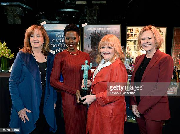 Cyd Wilson Foundation Executive Director actors Sola Bamis and Lesley Nicol JoBeth Williams SAG Awards Committee Chair SAGAFTRA Foundation Board...