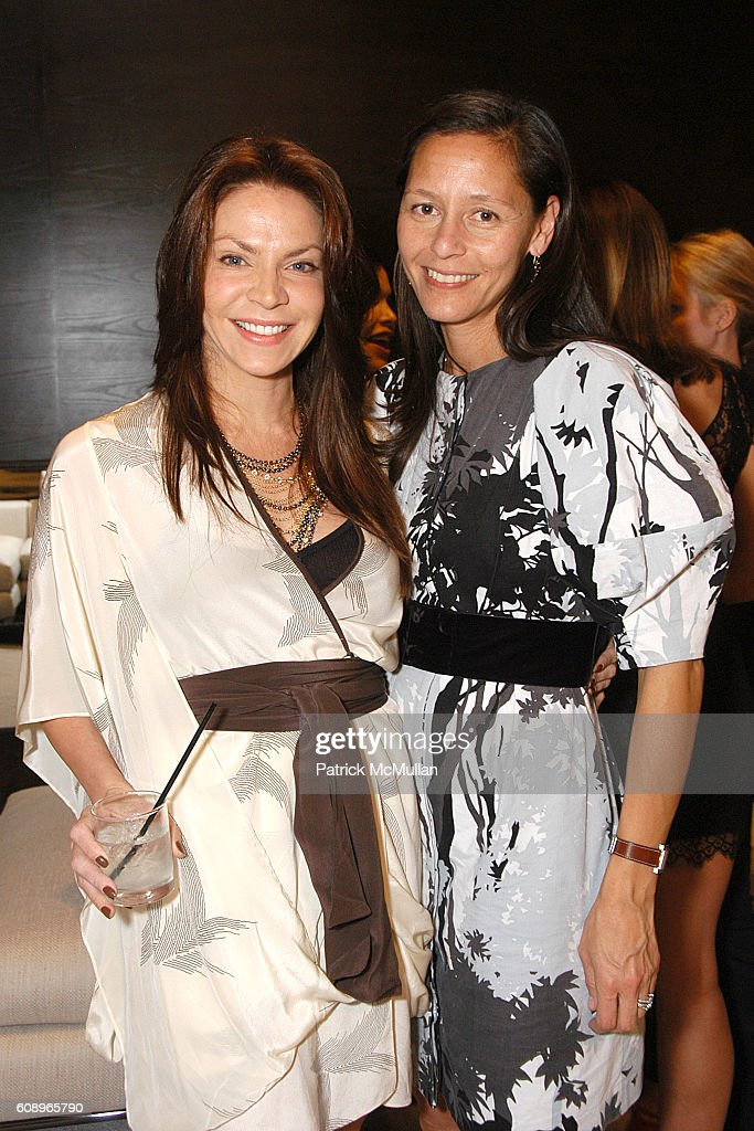 Cyia Batten and Marlein Rentmeester attend Allegra Hicks and Divine Design Trunk Show to support Project Angel Food's Divine Design 2007 at Minotti Showroom on November 7, 2007 in Beverly Hills, CA.