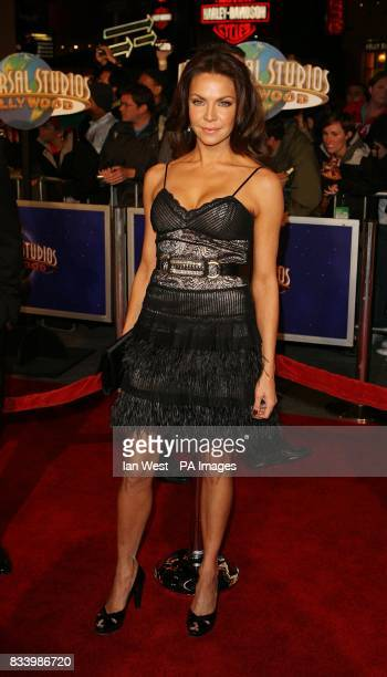 Cyia Batten arrives at the premiere of Charlie Wilson's War at the CityWalk Cinema in Universal City Los Angeles