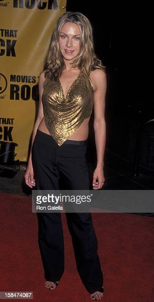 Cyia Batten attends the screening of It's Only Rock and Roll on May 24 2000 at the Director's Guild Theater in Hollywood California