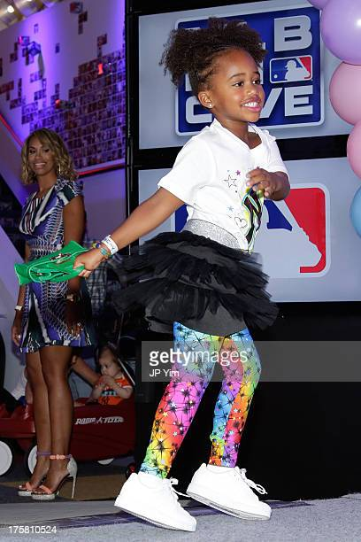Cyia Sabathia attends the CCandy Children's Clothing Line Launch at MLB Fan Cave on August 8 2013 in New York City