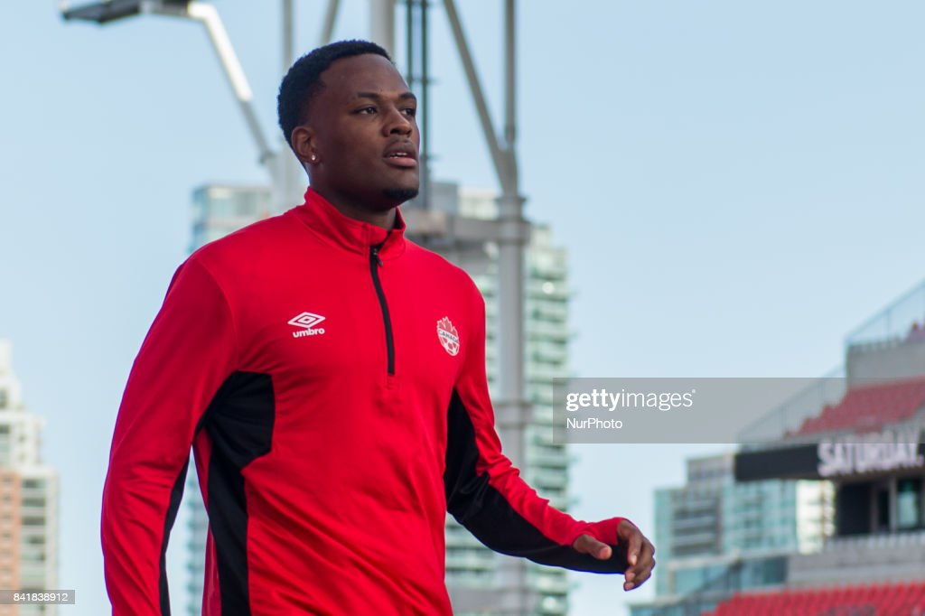 Canada soccer National team training session