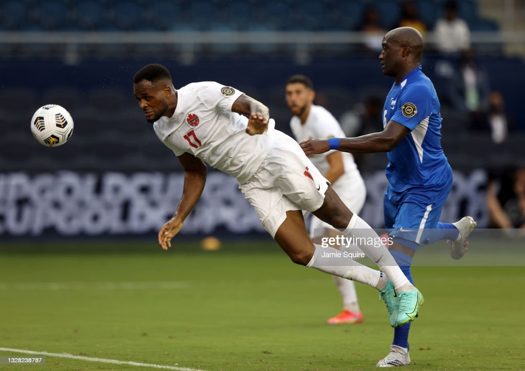 Canada v Martinique: Group B - 2021 CONCACAF Gold Cup : News Photo
