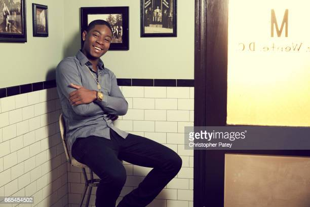 RJ Cyler is photographed for The Hollywood Reporter on October 14 2016 in Los Angeles California Published Image