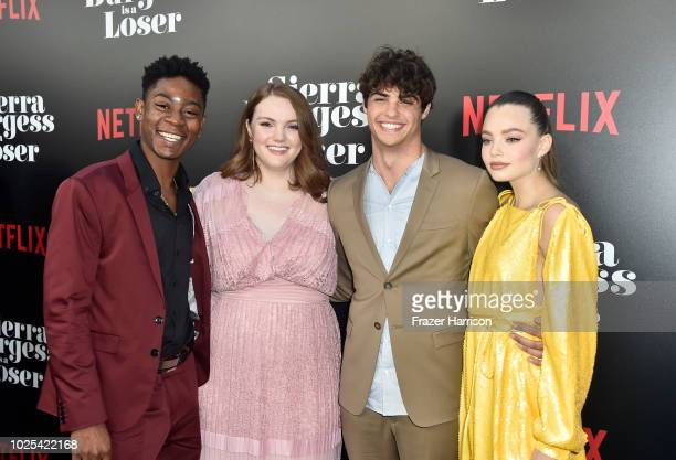 Cyler Shannon Purser Noah Centineo and Kristine Froseth attend the Premiere Of Netflix's Sierra Burgess Is A Loser at ArcLight Hollywood on August 30...