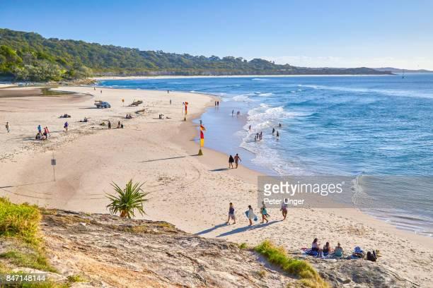 Cylinder Beach,North Stradbroke Island,Queensland,Australia