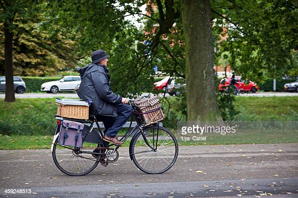 cyling man - breda stock pictures, royalty-free photos & images