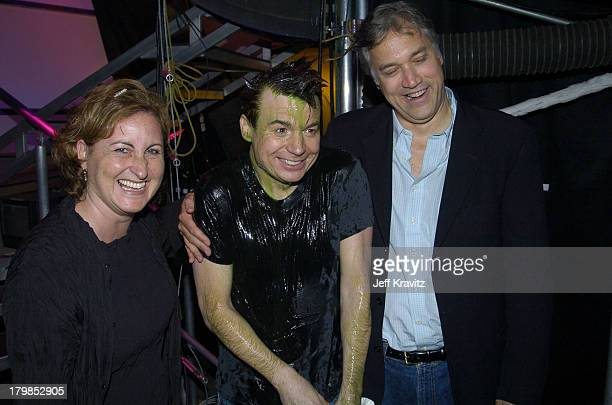 Cyma Zarghami Mike Myers and MTV Networks president Herb Scannell