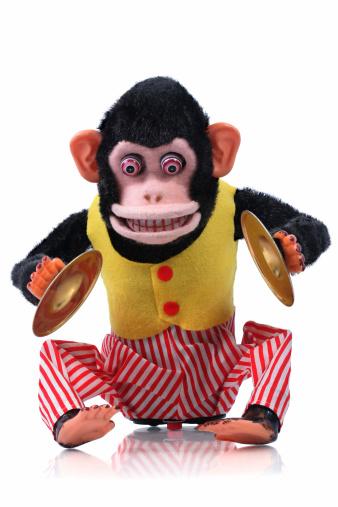 Cymbal Playing Monkey 172733417