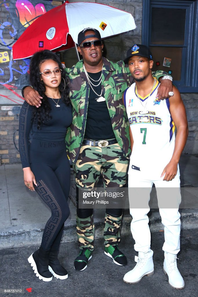 Cymphonique Miller, Master P and Romeo Miller attend VH1 Hip Hop