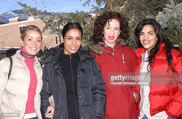 Cyn Canel Rossi writer/producer/codirector Daniella Alonso Sarah Rogacki codirector and Sarita Choudhury
