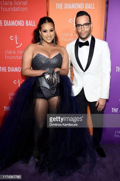 Cyn Santana and Jonathan Fernandez attend Rihanna's 5th Annual Diamond Ball Benefitting The Clara Lionel Foundation at Cipriani Wall Street on...