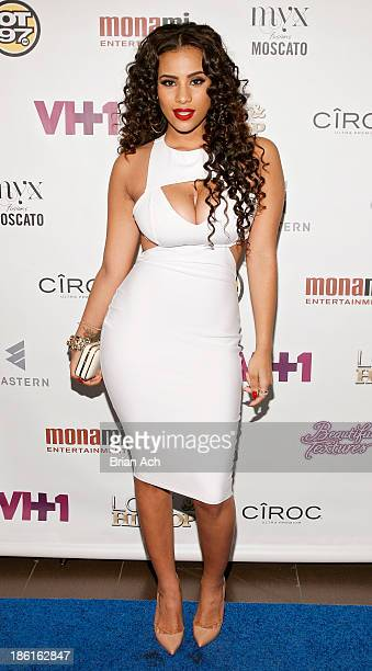 Cyn Santana appears at the VH1 Love Hip Hop Season 4 Premiere at Stage 48 on October 28 2013 in New York City