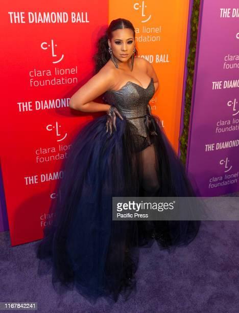 Cyn Santana attends 5th Annual Diamond Ball benefiting the Clara Lionel Foundation at Cipriani Wall Street