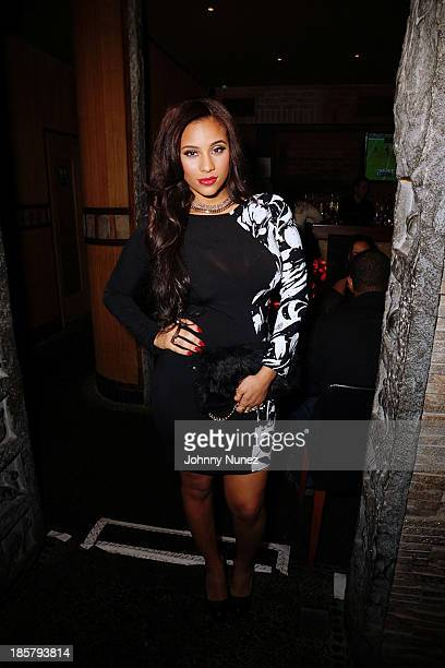 Cyn Santana attends Puss In Boots at AMAZE on October 24 2013 in New York City