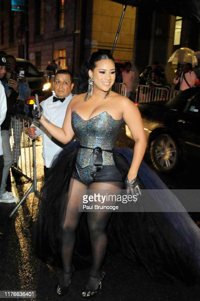 Cyn Santana attends the 5th Annual Diamond Ball at Cipriani Wall St on September 12 2019 in New York City
