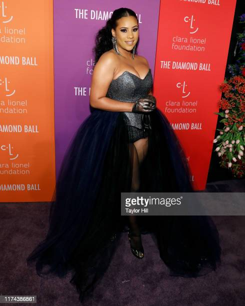 Cyn Santana attends the 5th Annual Diamond Ball benefiting the Clara Lionel Foundation at Cipriani Wall Street on September 12 2019 in New York City