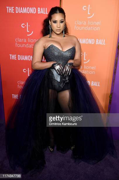 Cyn Santana3 attends Rihanna's 5th Annual Diamond Ball Benefitting The Clara Lionel Foundation at Cipriani Wall Street on September 12 2019 in New...