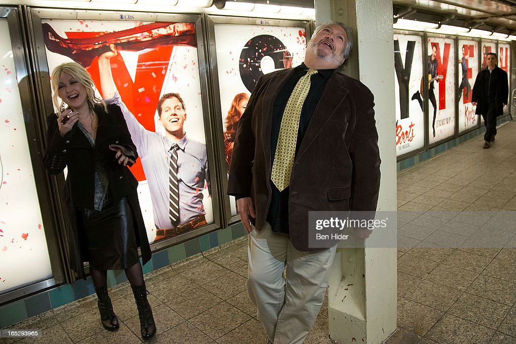 """Broadway's """"Kinky Boots"""" Everybody Say Yeah Ad Unveiling : News Photo"""