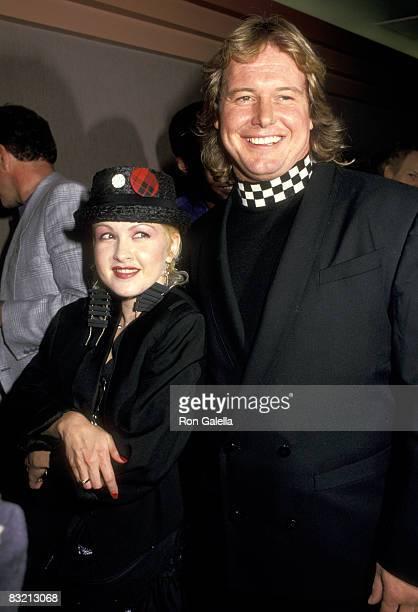 Cyndi Lauper and 'Rowdy' Roddy Piper