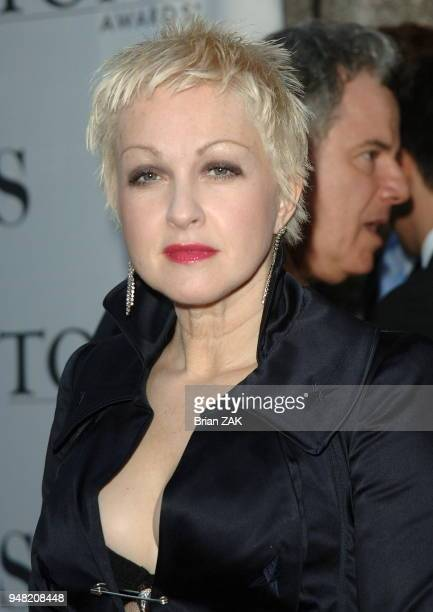 Cyndi Lauper arrives to the 60th Annual Tony Awards held at Radio City Music Hall New York City BRIAN ZAK