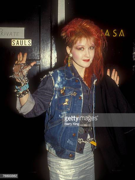 Cyndi Lauper at the Lhasa in Los Angeles California