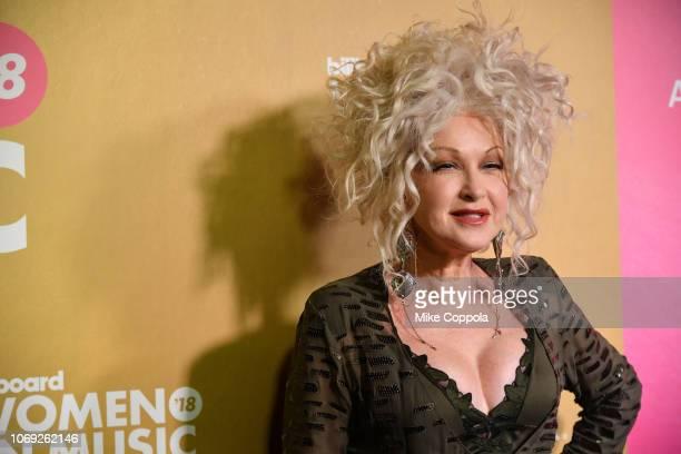 Cyndi Lauper attends Billboard Women In Music 2018 on December 6 2018 in New York City
