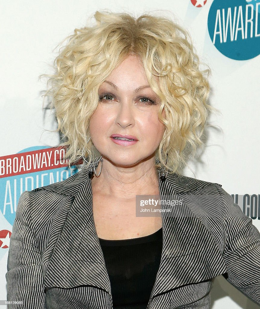 Cyndi Lauper attends The 2013 Broadway.com Audience Choice Awards at Jazz at Lincoln Center on May 5, 2013 in New York City.