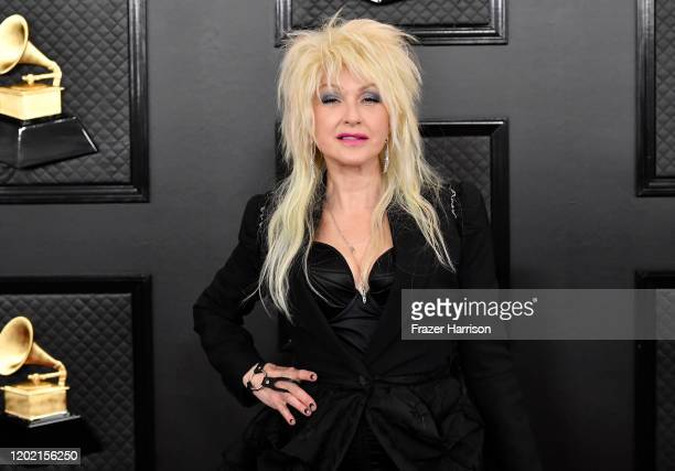 Cyndi Lauper attends the 62nd Annual GRAMMY Awards at STAPLES Center on January 26 2020 in Los Angeles California