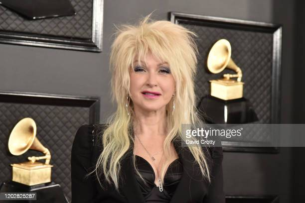 Cyndi Lauper attends the 62nd Annual Grammy Awards at Staples Center on January 26, 2020 in Los Angeles, CA.