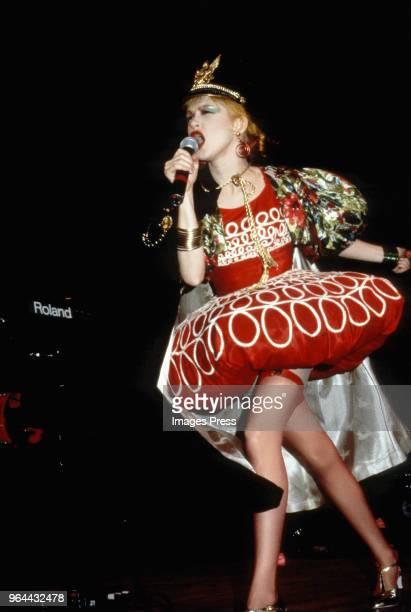 Cyndi Lauper circa 1986 in New York City.