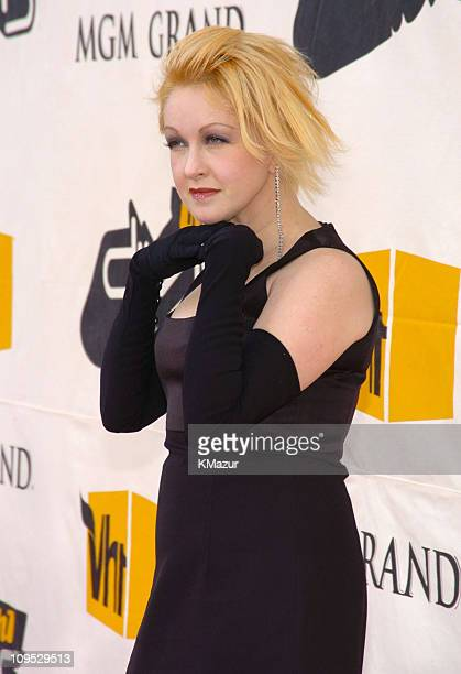 Cyndi Lauper during 2004 VH1 Divas Benefitting The Save The Music Foundation Red Carpet at The MGM Grand in Las Vegas Nevada United States