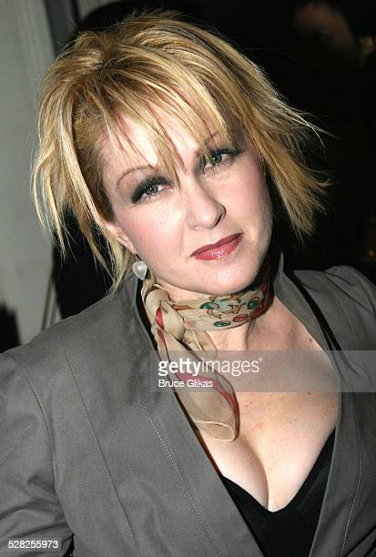 Cyndi Lauper during 58th Annual Tony Awards Nominee Announcements at The Hudson Theater in New York City New York United States