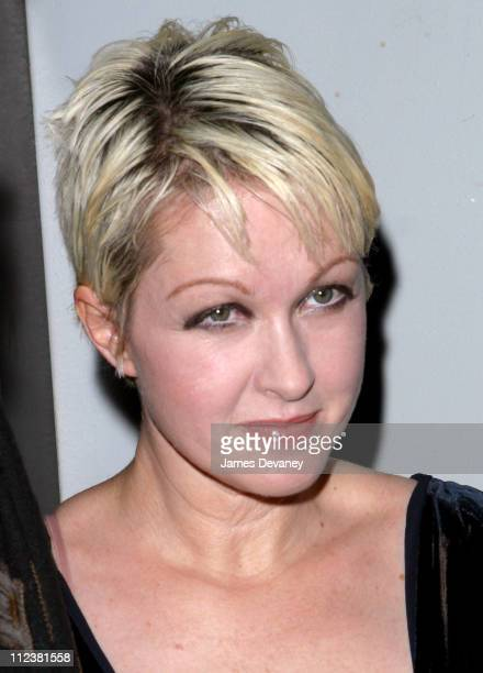 Cyndi Lauper during New York Premiere of XX/XY at the Gen Art Eighth Annual Film Festival at Loews Astor Plaza in New York City New York United States