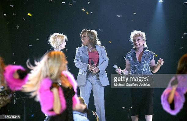 Cyndi Lauper Patti LaBelle and Debbie Harry perform with the Pussycat Dolls at the 2004 VH1 Divas Show