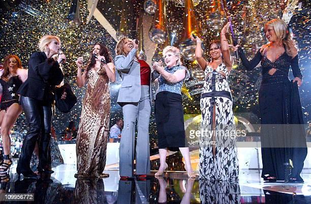 Cyndi Lauper Sheila E Patti LaBelle Debbie Harry Ashanti and Jessica Simpson