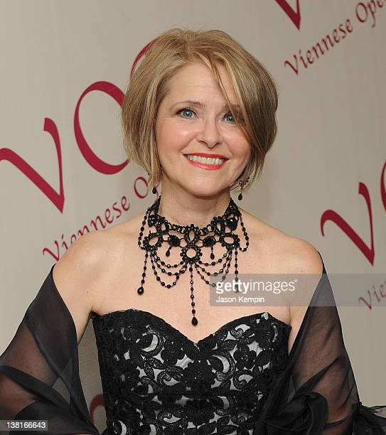 Cyndia Sieden attends the 57th annual Viennese Opera ball gala at The Waldorf Astoria on February 3 2012 in New York City
