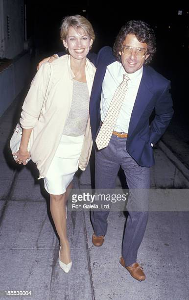 Cyndy Garvey and husband sighted on May 26 1987 at Spago Restaurant in West Hollywood California
