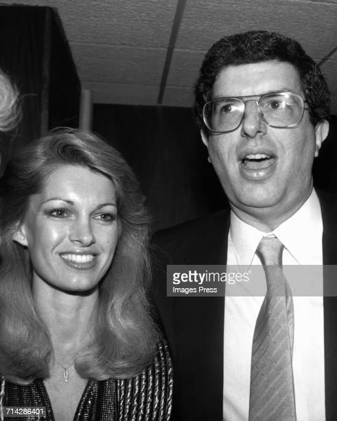 Cyndy Garvey and Marvin Hamlisch attend a party at Sardi's circa 1981 in New York City