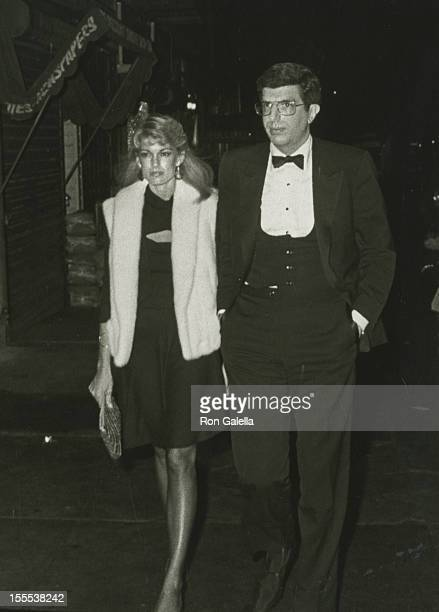 Cyndy Garvey and musician Marvin Hamlisch sighted on November 4 1982 at Elaine's Restaurant in New York City