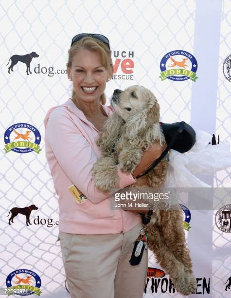 Cyndy Garvey attends the 5th Annual Bow Wow Ween at the Barrington Dog Park on October 29 2006 in West Los Angeles California